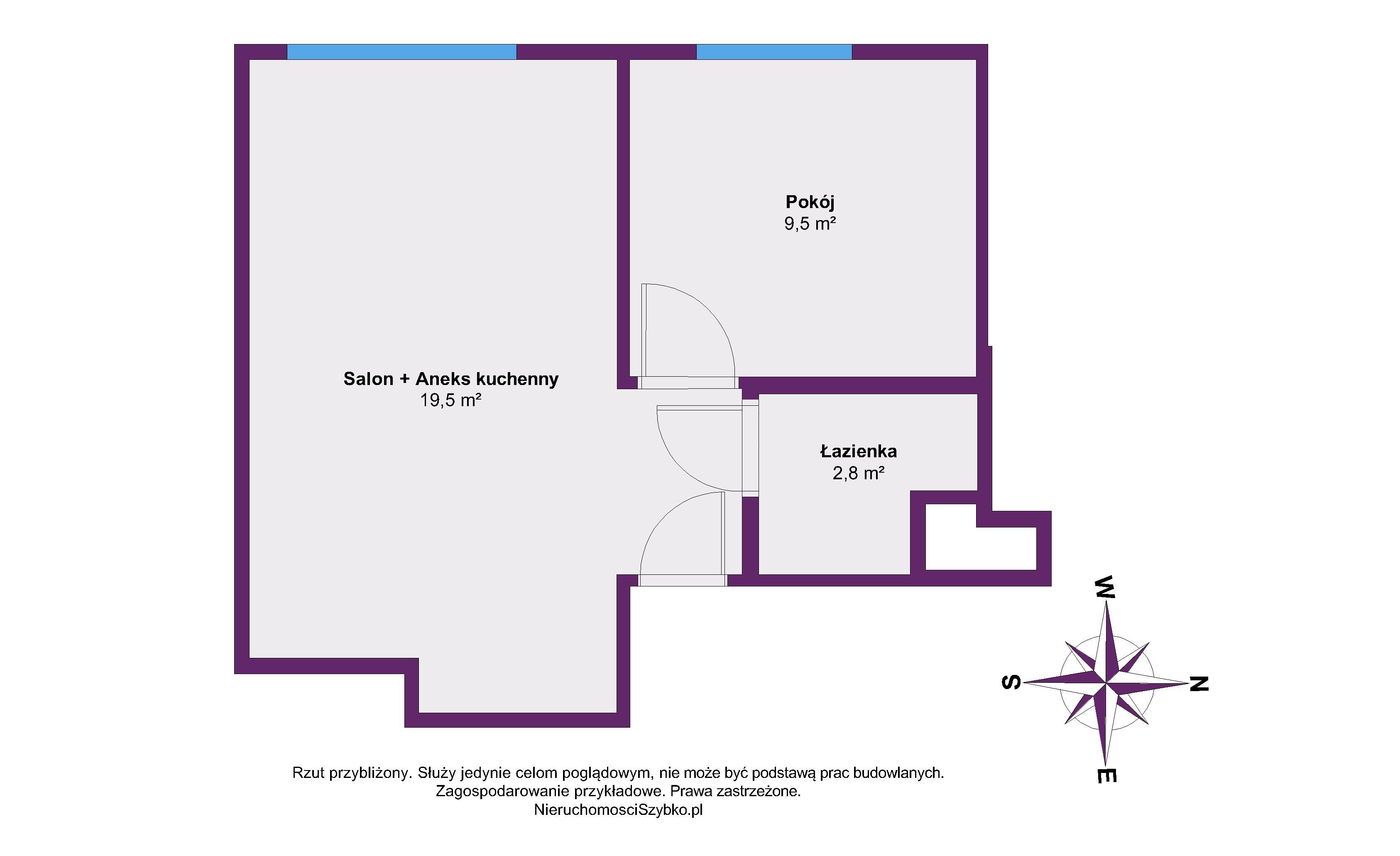 Mieszkanie Warszawa Mokotów na sprzedaż 37 m² NieruchomosciSzybko.pl