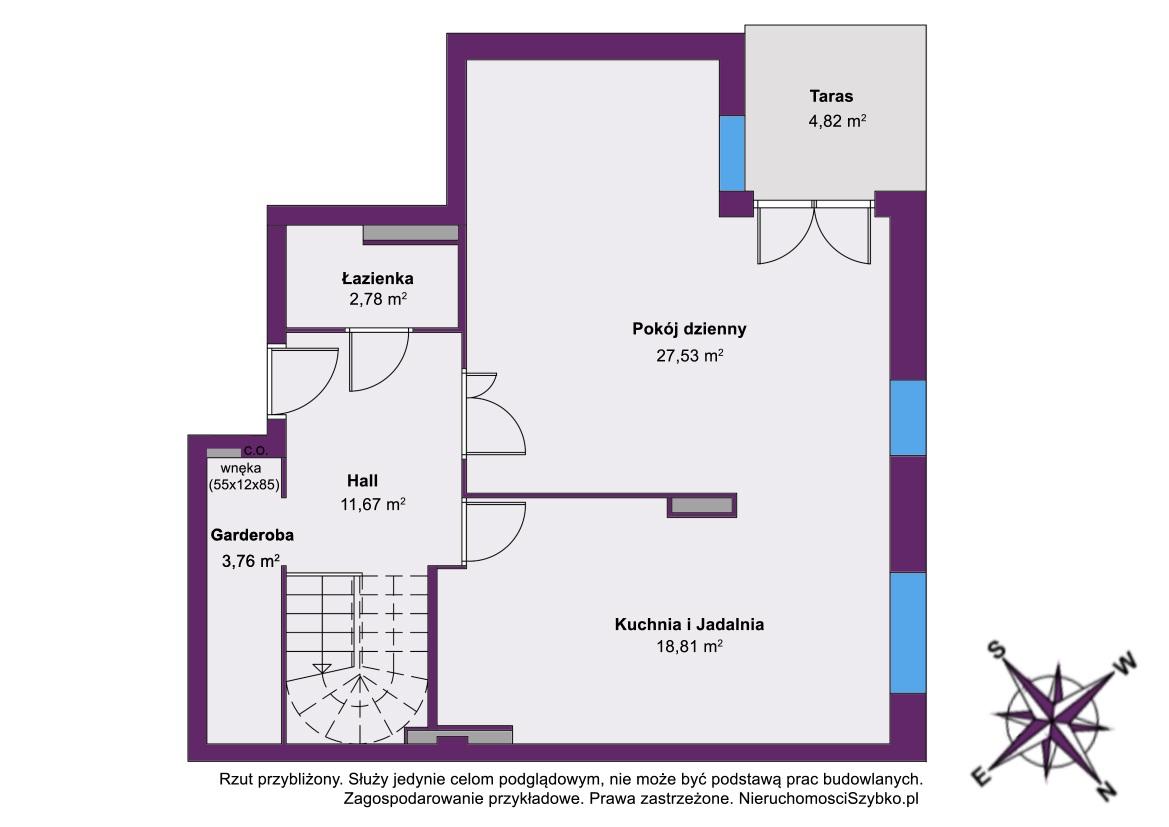 Dwupoziomowe Mieszkanie na sprzedaż Warszawa Bemowo 130,55 m2 NieruchomosciSzybko.pl
