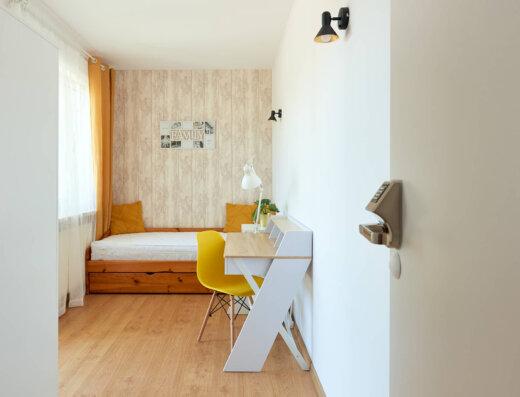 Pokój z balkonem na wynajem przy Metrze Natolin 10 m2 Warszawa Ursynów NieruchomosciSzybko (4)